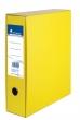 VICTORIA tokos iratrendező, A4, 75 mm, karton, sárga