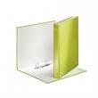 LEITZ gyűrűskönyv, A4, 40 mm, 2 gyűrűs, karton, lakkfényű, zöld