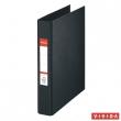 ESSELTE gyűrűskönyv, A5, 42 mm, 2 gyűrűs, PP/PP, Standard, Vivida, fekete