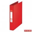 ESSELTE gyűrűskönyv, A5, 42 mm, 2 gyűrűs, PP/PP, Standard, Vivida, piros