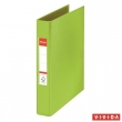 ESSELTE gyűrűskönyv, A5, 42 mm, 2 gyűrűs, PP/PP, Standard, Vivida, zöld