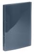 VIQUEL gyűrűskönyv, A4, 25 mm, 2 gyűrűs, PP, Propyglass, füstszínű