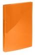 VIQUEL gyűrűskönyv, A4, 25 mm, 2 gyűrűs, PP, Propyglass, narancssárga