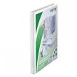LEITZ gyűrűskönyv, A4, 30 mm, 2 gyűrűs, PP, panorámás, maxi, fehér