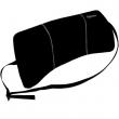 FELLOWES deréktámasz, hordozható, Portable Lumbar Support