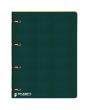 ICO gyűrűskönyv, A4, 35 mm, 4 gyűrűs, karton, Student, zöld