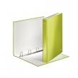 LEITZ gyűrűskönyv, A4, 40 mm, 4 gyűrűs, D alakú, karton, lakkfényű, Wow, zöld