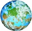 FELLOWES egéralátét, kör alakú, Brite Pad, Föld