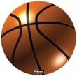 FELLOWES egéralátét, kör alakú, Brite Pad, kosárlabda