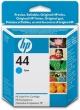 HP 51644CE tintapatron, Designjet 350c/450c, kék, Nr. 44