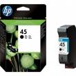 HP 51645AE tintapatron, DJ 710c/720c/815c, fekete, 42ml, Nr. 45