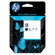 HP C4810A tintapatron, Designjet 500/800, Business Inkjet 1000 sorozat, fekete fej, Nr. 11
