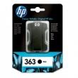 HP C8721EE tintapatron, Photosmart 3210/3310/D7640, fekete, 6ml, Nr. 363