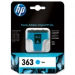 HP C8771EE tintapatron, Photosmart 3210/3310/D7460, kék, 4ml, Nr. 363