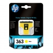 HP C8773EE tintapatron, Photosmart 3210/3310/D7460, sárga, 6ml, Nr. 363