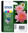 EPSON T01440110 tintapatron, St. C20UX/C20SX, színes, 25ml