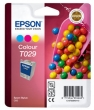 EPSON T02940110 tintapatron, St. C60, színes, 37ml
