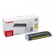 CANON CRG-707Y lézertoner, i-SENSYS LBP 5000/5100 nyomtatókhoz, sárga, 2,5K