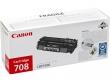 CANON CRG-708S lézertoner, i-SENSYS LBP 3300/3360 nyomtatókhoz, fekete, 2,5K