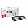 CANON CRG-711Y lézertoner, i-SENSYS LBP 5300 nyomtatóhoz, sárga, 6K