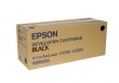 EPSON C13S050033 lézertoner, Aculaser C1000, nyomtatóhoz, fekete, 6K