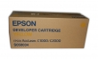 EPSON C13S050034 lézertoner, Aculaser C1000, nyomtatóhoz, sárga, 6K