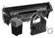 OKI 09002989 lézertoner, Office 1200/1600 nyomtatókhoz, fekete, 2,5K