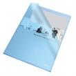 ESSELTE genotherm, A4, 105 mikron, narancsos felület, Standard, kék