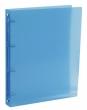 VIQUEL gyűrűskönyv, A4, 35 mm, 4 gyűrűs, PP, maxi, Propyglass, kék