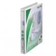 LEITZ gyűrűskönyv, A4, 44 mm, 2 gyűrűs, PP, panorámás, maxi, fehér