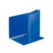 ESSELTE gyűrűskönyv, A4, 25 mm, 4 gyűrűs, PP/PP, panorámás, kék