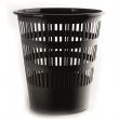 DONAU papírkosár, 12 l, műanyag, fekete