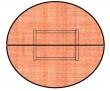 VICTORIA körtárgyaló, 150x75 cm, lalplábas, cseresznye