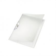 LEITZ klipdosszié, A4, 40 lap, PP, ColorClip, Professional, fehér