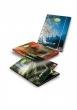 PIGNA gumis mappa, A4, 12 mm, karton, Oxygen Eco