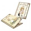 PIGNA gumis mappa, A4, 12 mm, karton, Holly Hobbie