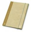 PIGNA gumis mappa, A4, 12 mm, karton, Portofino, bézs