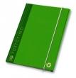 PIGNA gumis mappa, A4, 12 mm, karton, Portofino, zöld