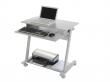 ROCADA PC asztal, 80x45 cm, szürke