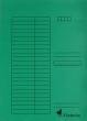 VICTORIA okmánytartó, A4, karton, zöld