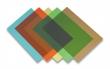 FELLOWES előlap spirálozáshoz, A4, 200 mikron, átlátszó zöld