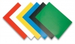 FELLOWES hátlap spirálozáshoz, A4, 250 g, Chromo, fényes, kék