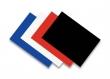 FELLOWES hátlap spirálozáshoz, A4, 270 g, Linen, vászon hatású, fekete
