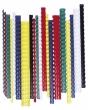 FELLOWES spirál, 12 mm, műanyag, 56-80 laphoz, piros