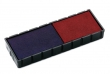 COLOP bélyegző cserepárna, E/12/2, 2 db/bliszter, kék/piros