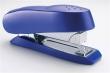 RAPESCO tűzőgép, 24/6-8, 26/6-8, 50 lap, Luna Half-Strip, elöltöltős, műanyag, kék