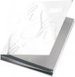 LEITZ aláírókönyv, A4, 18 részes, karton, fehér