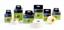 DYMO etikett, Ø 57 mm, LW nyomtatóhoz, CD/DVD, fehér