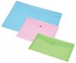 PANTA PLAST irattartó tasak, 220x110x0,18 mm, DL (csekk méretű), PP, patentos, pasztell rózsaszín