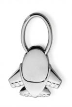 kulcstartó, repülő, ezüst